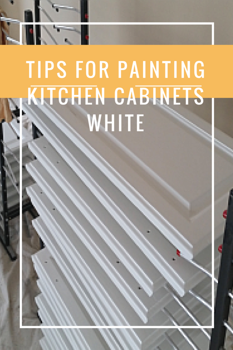Tips For Painting Kitchen Cabinets White Dengarden