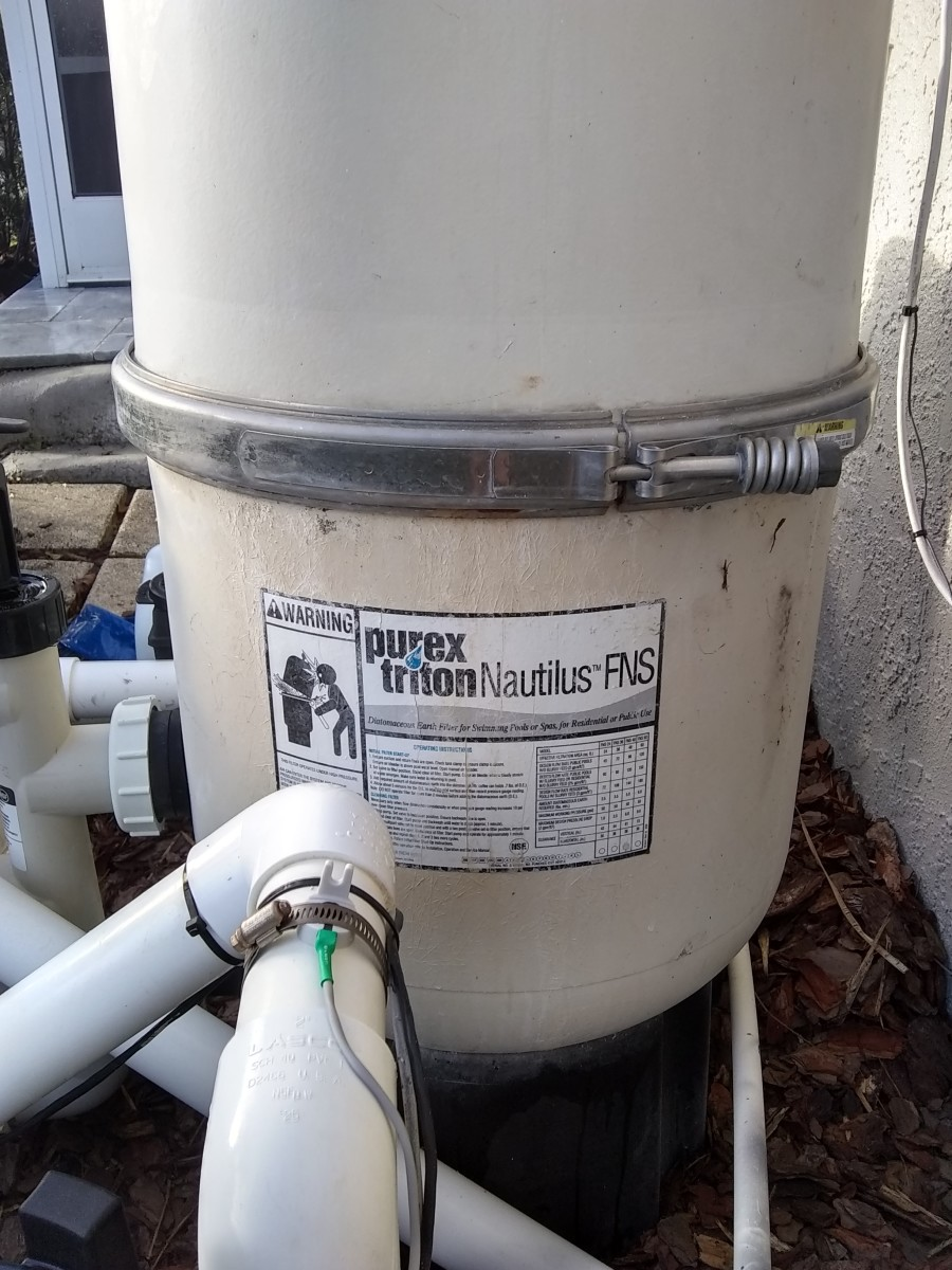 How to Break Down and Service a Purex-Triton Nautilus FNS DE Filter