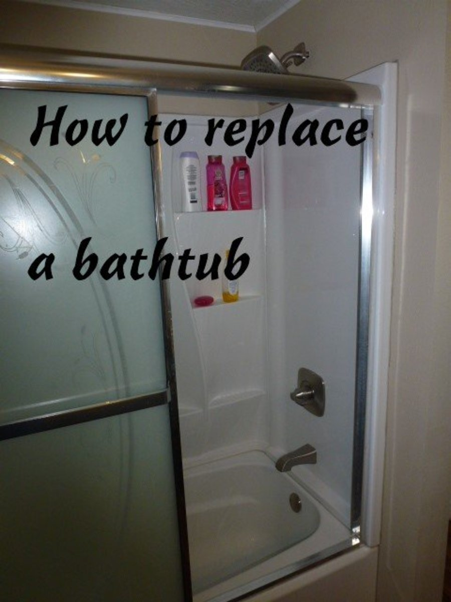 How to Replace a Bathtub