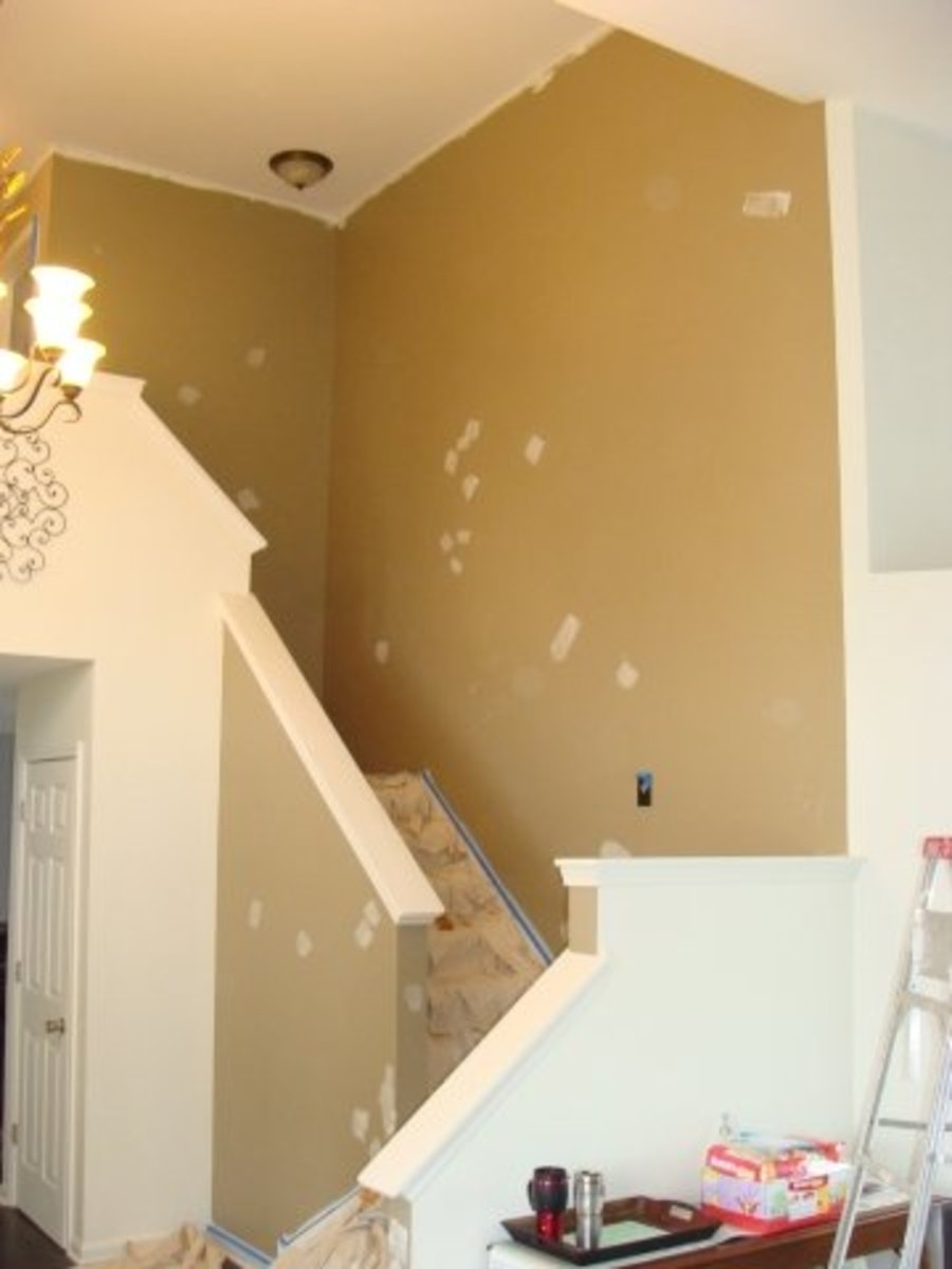 Painting Staircase ...