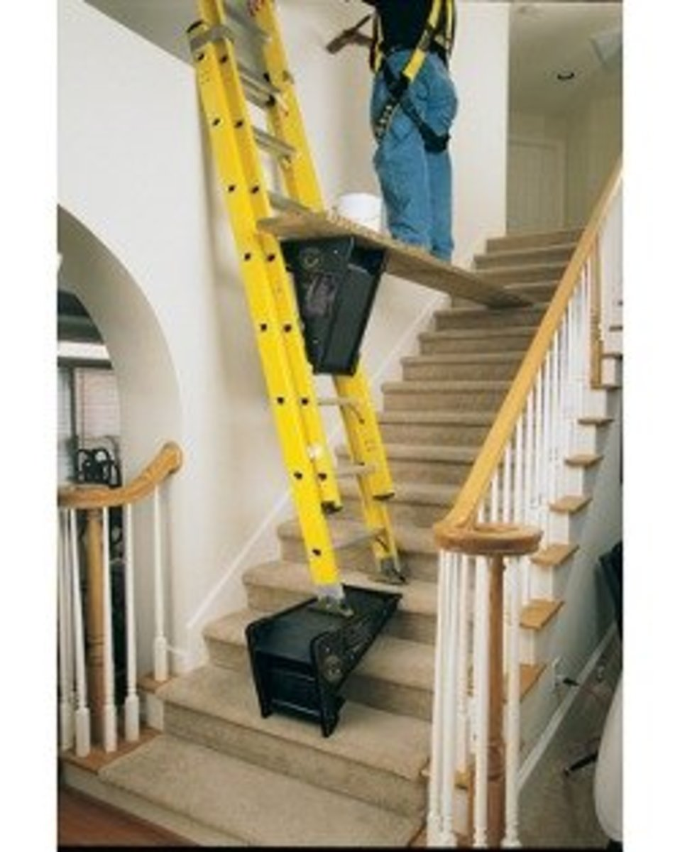 Ladders For Stairs Painting