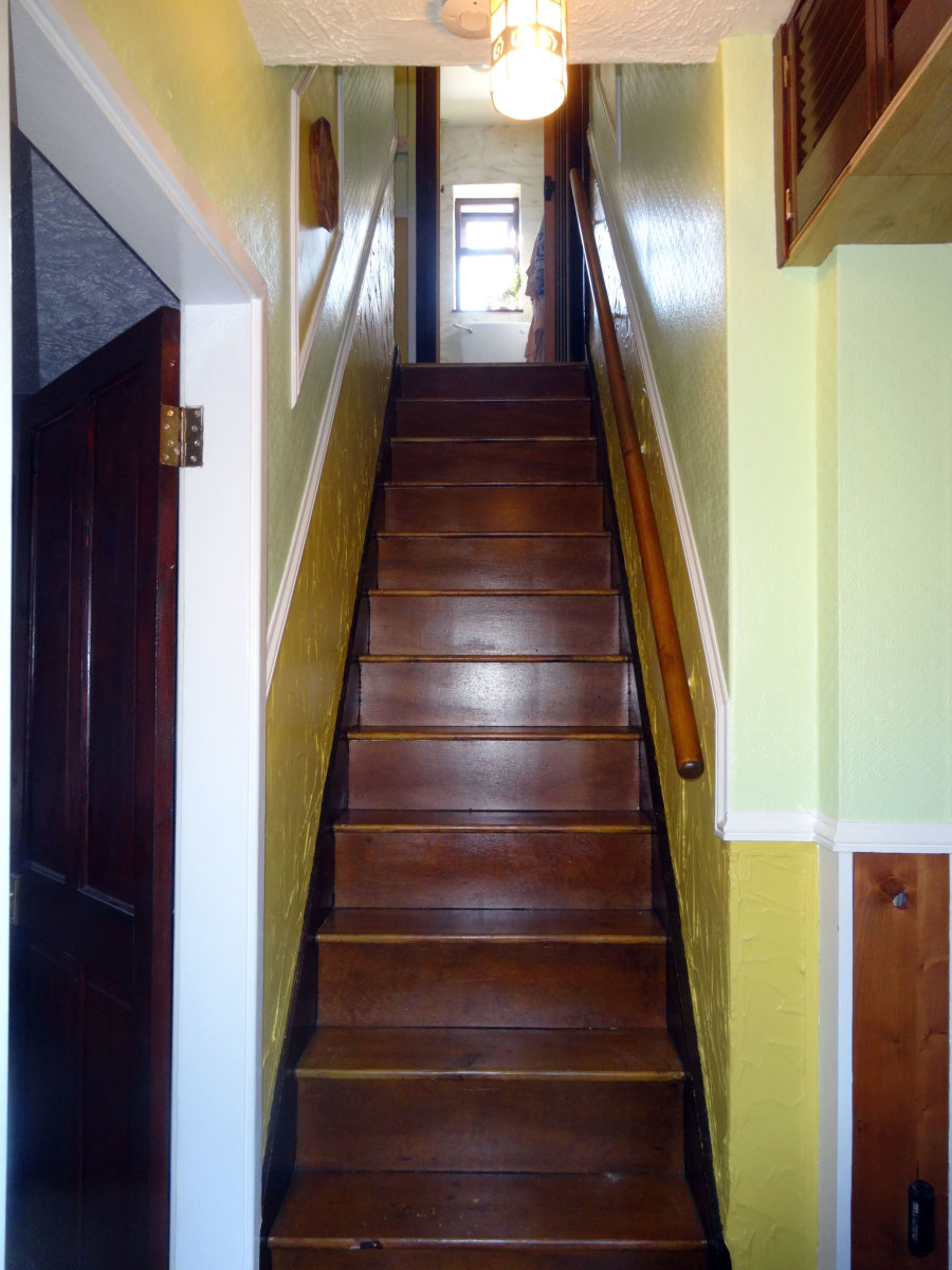 Stairs and Landing Makeover