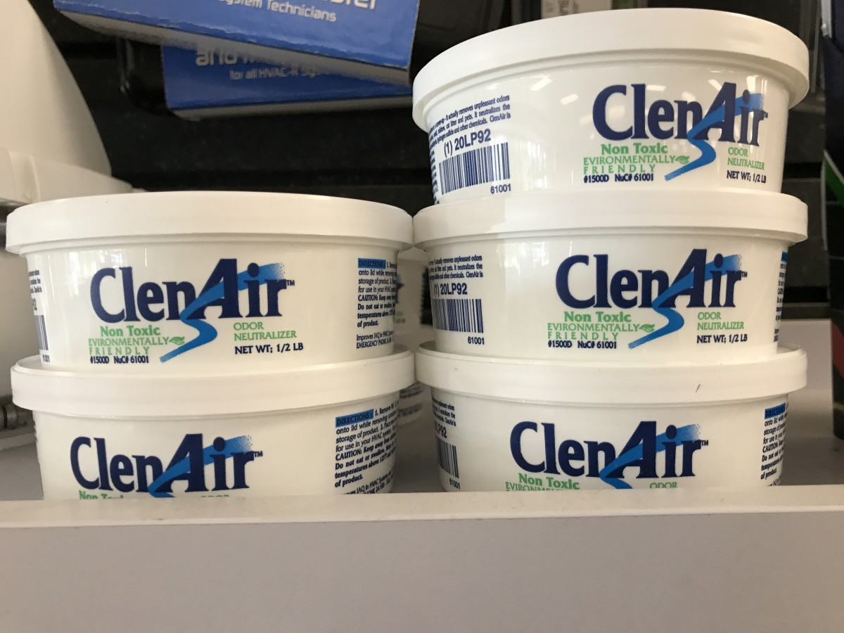 We're starting to keep a lot of this ClenAir by Nu-Calgon on had for HVAC call-outs regarding bad smells. It works very well.