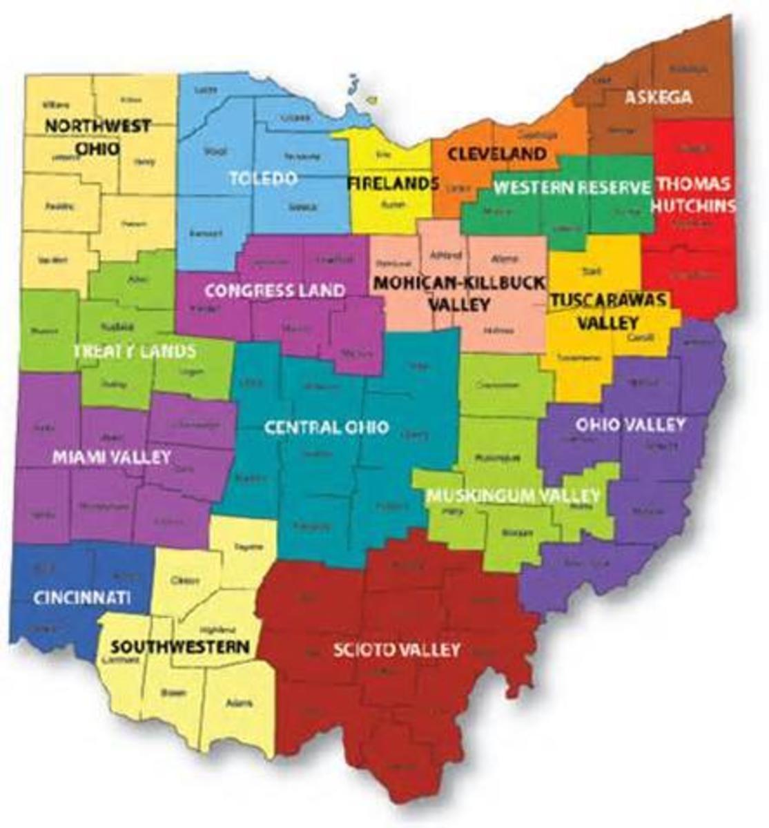 Ohio regions