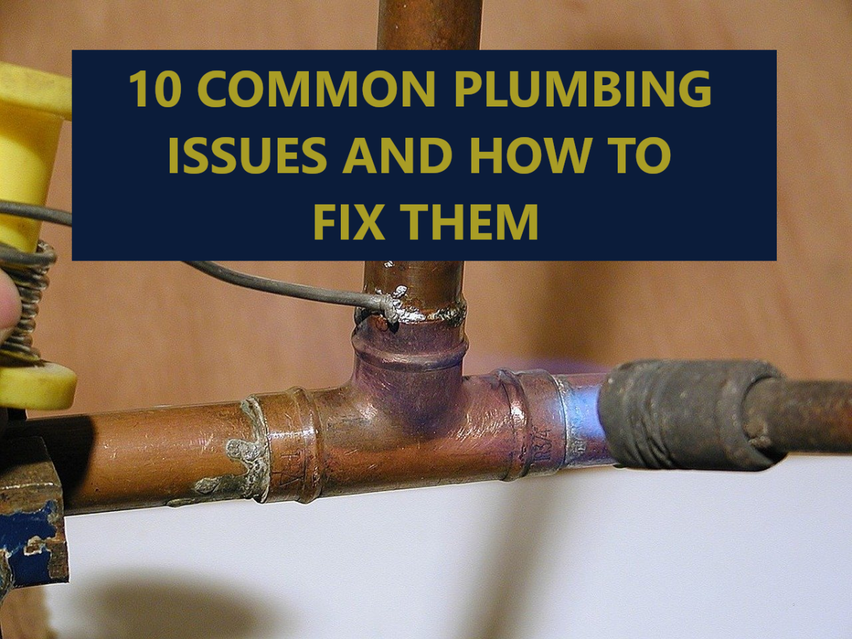 The 10 Most Common Plumbing Problems