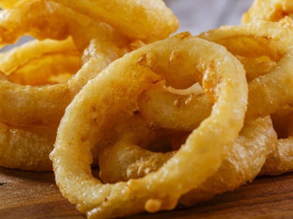 Grow onions, eat onion rings!