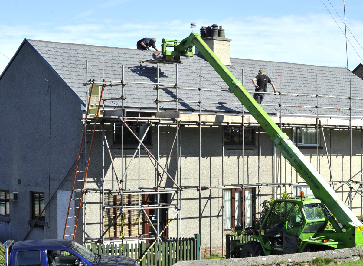 Replacing a roof can be very costly.
