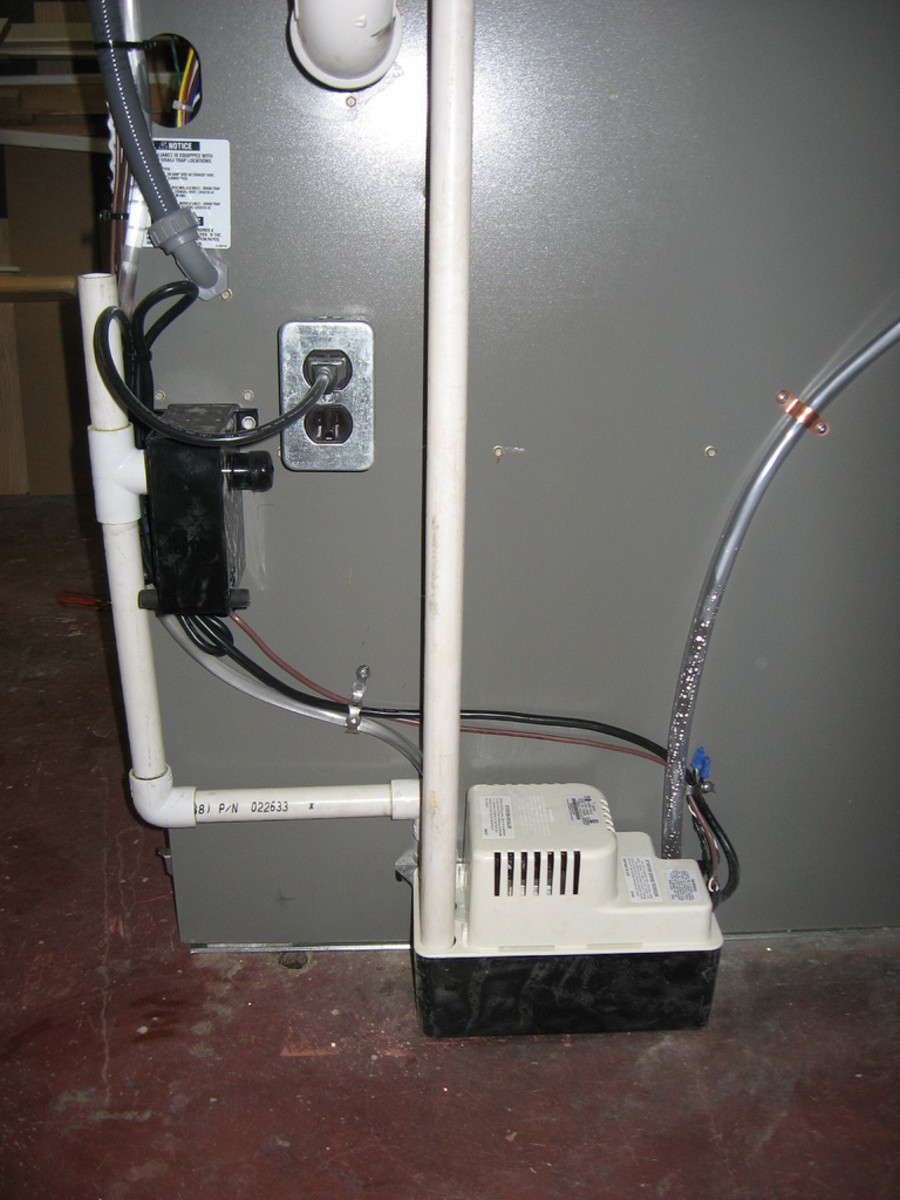 How to Replace an Air-Conditioning System's Condensate Pump