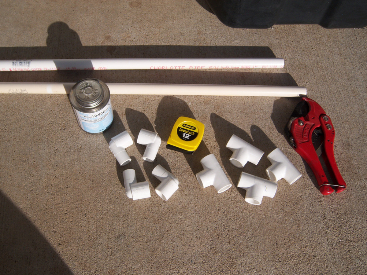 Many systems use 3/4-inch pvc pipe as a furnace or air-conditioning drain.