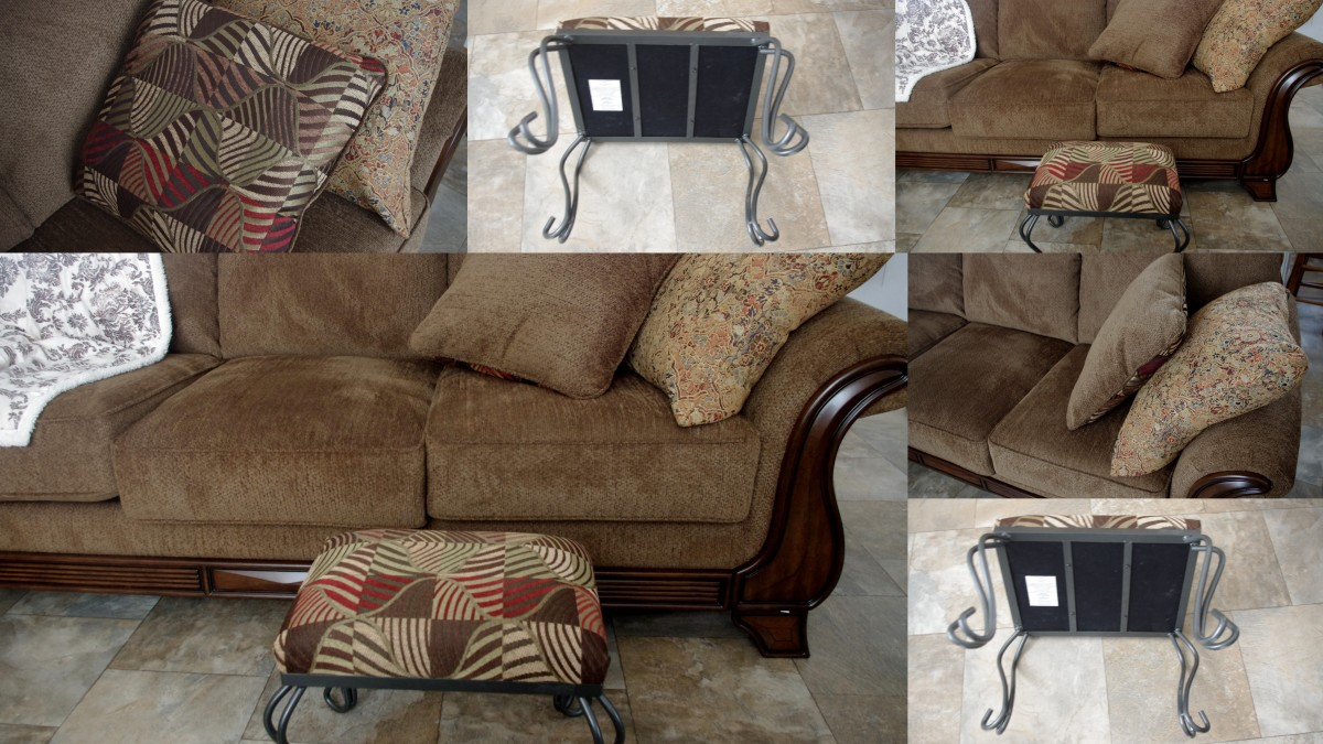 Add new covers to your existing furniture to help bring a new look to your home.