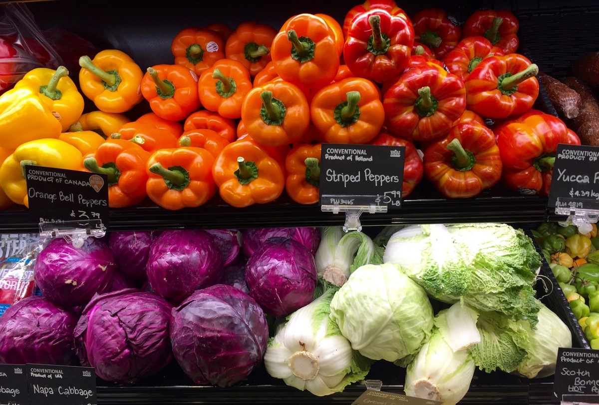 You'll spend less money at the grocery store if you grow your own fruits and vegetables.