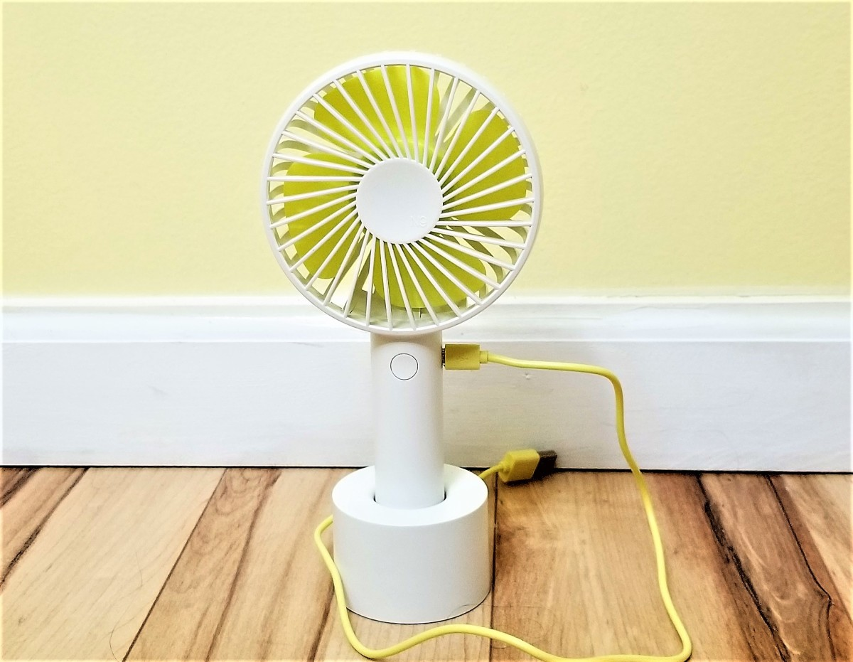 Review of Artifit N9 Mini Portable Fan (No Batteries Required)