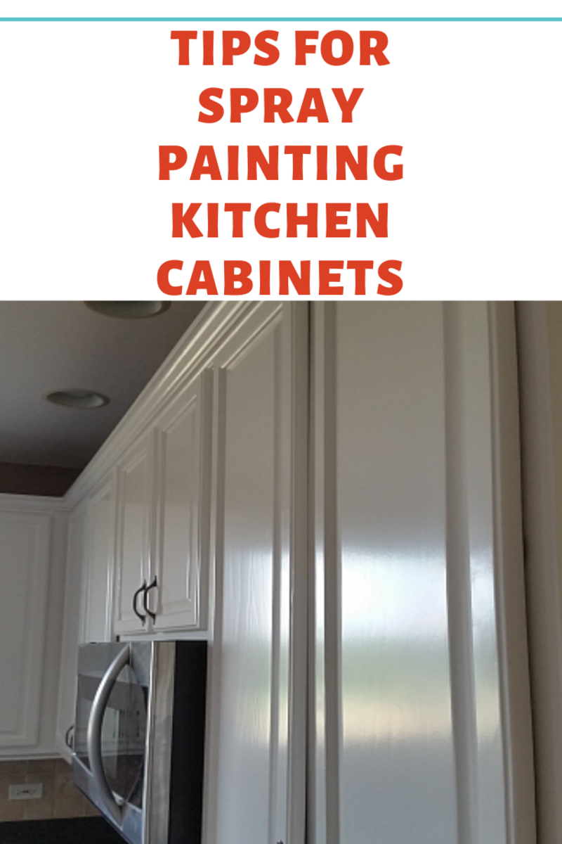 Tips For Spray Painting Kitchen Cabinets Dengarden Home And Garden
