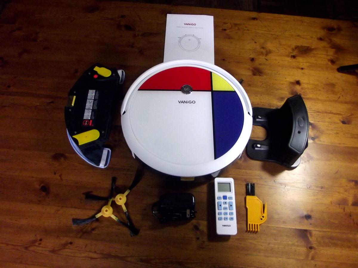 Vanigo  A3 Smart Robot Vacuum Cleaner