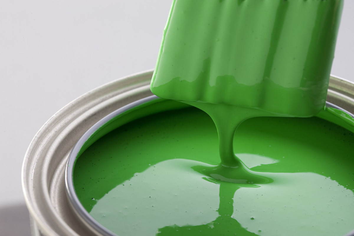 High humidity levels can damage paint, causing a leaching process to make results be less than desirable.