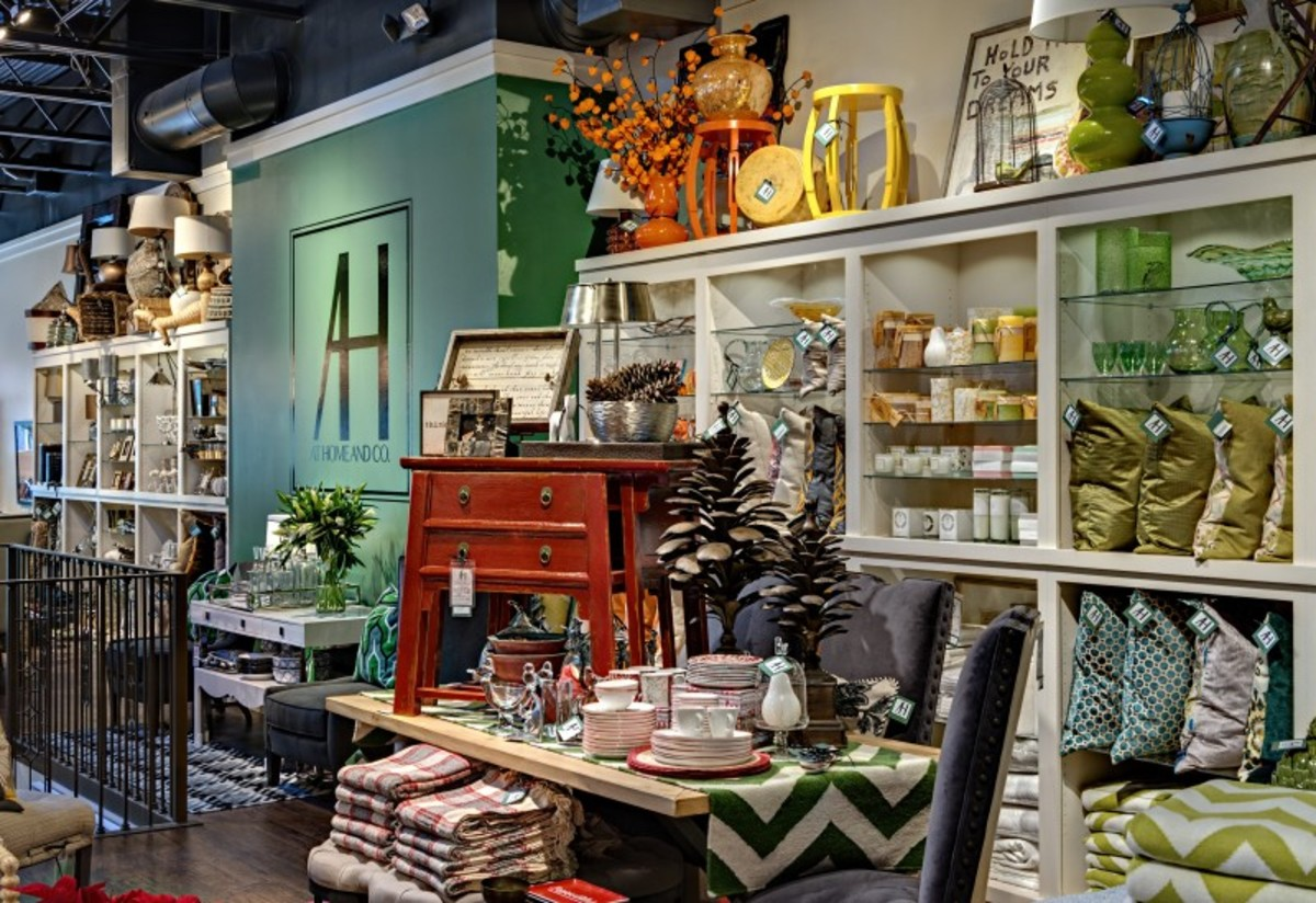 Home accessories add interest, color, texture and elegance to any home.