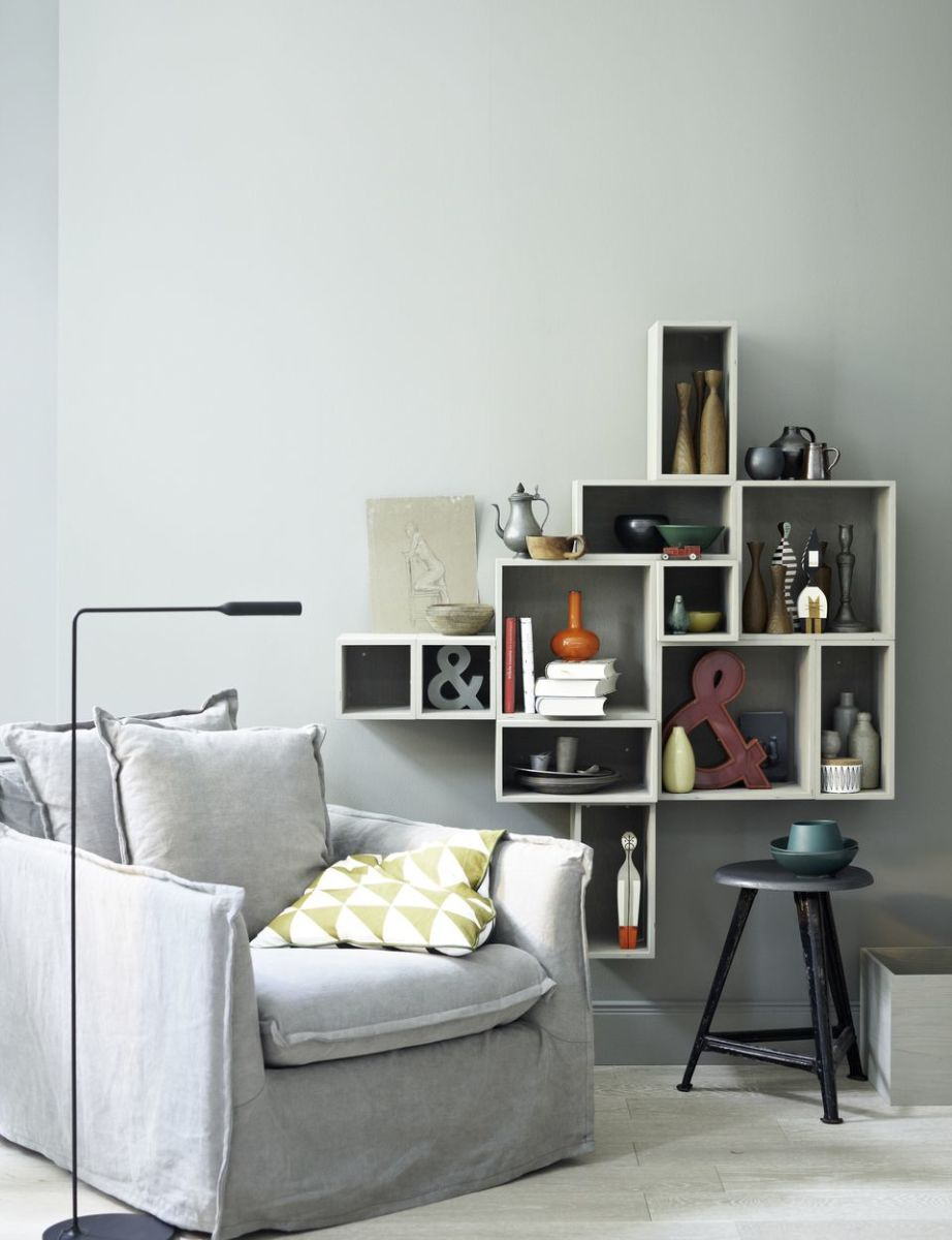 Grouping similar items together creates design continuity.