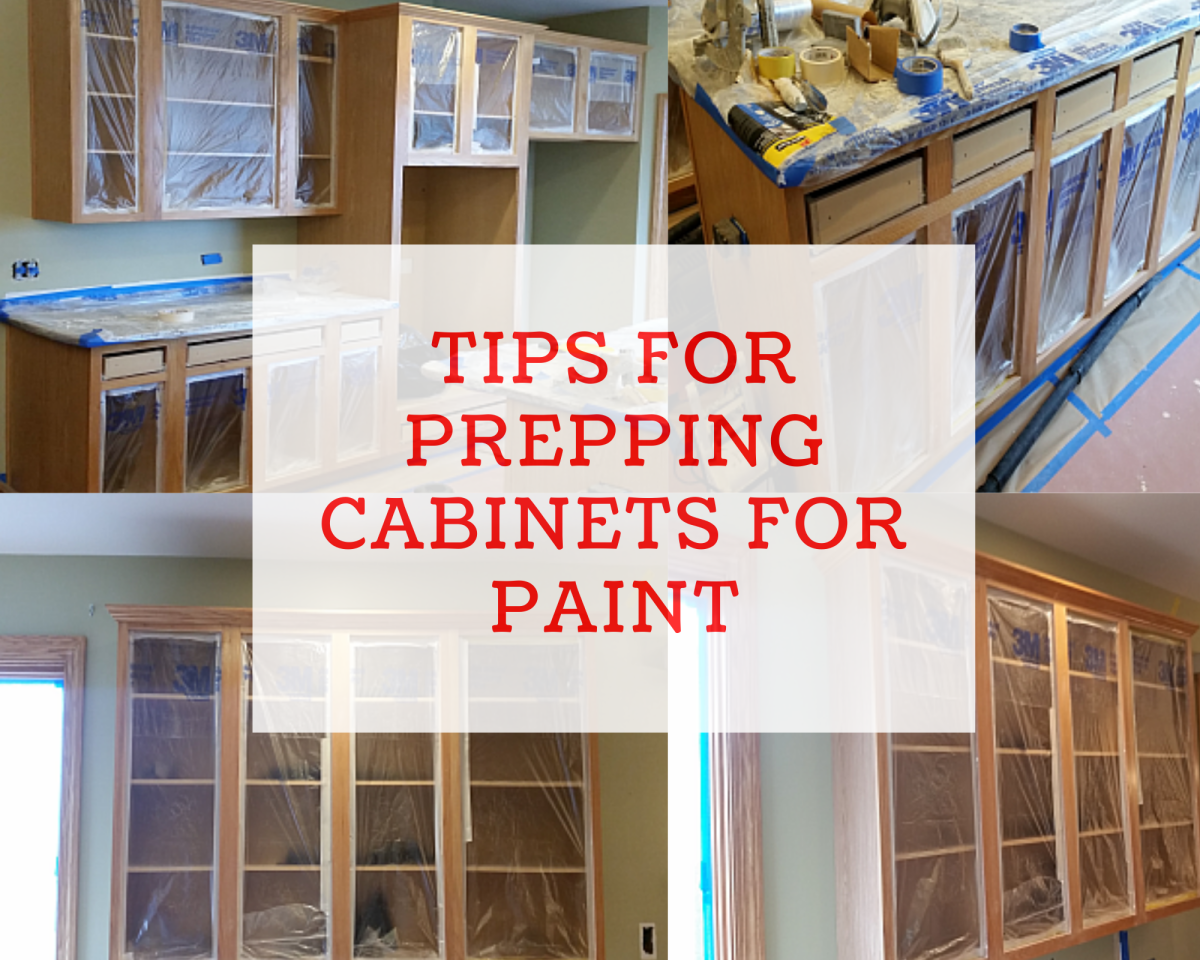 Tips for Prepping Cabinets for Paint