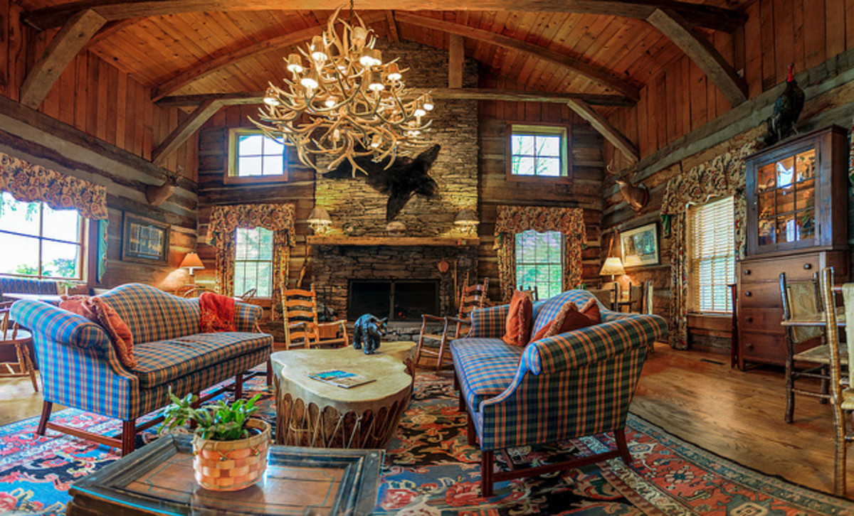 This lodge look could be a design starting point for your outdoor adventure seeker.