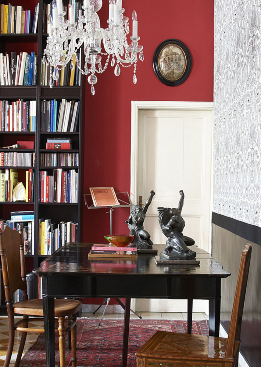 Rich reds inject a lively and warm atmosphere to any room.