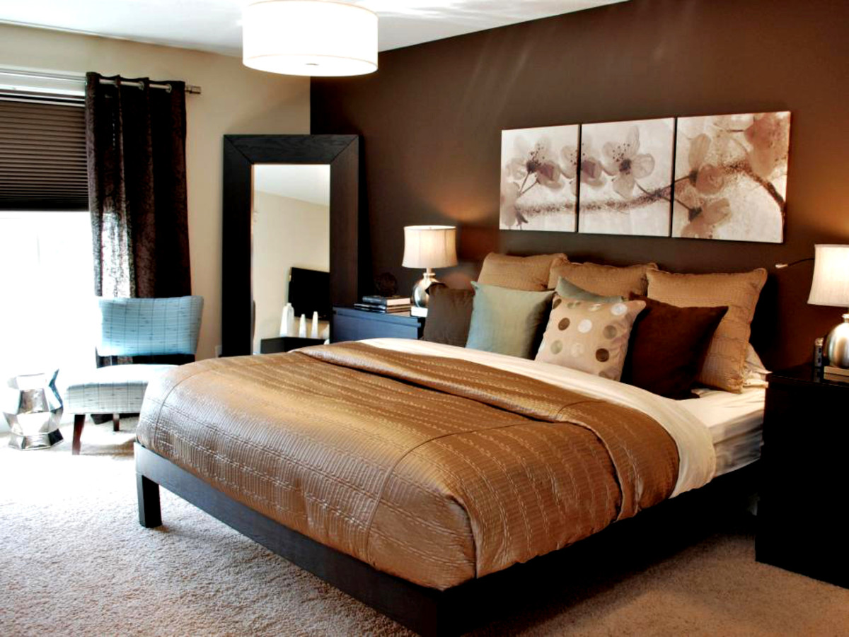 Brown is a grounding color that can be sophisticated, rustic or traditional