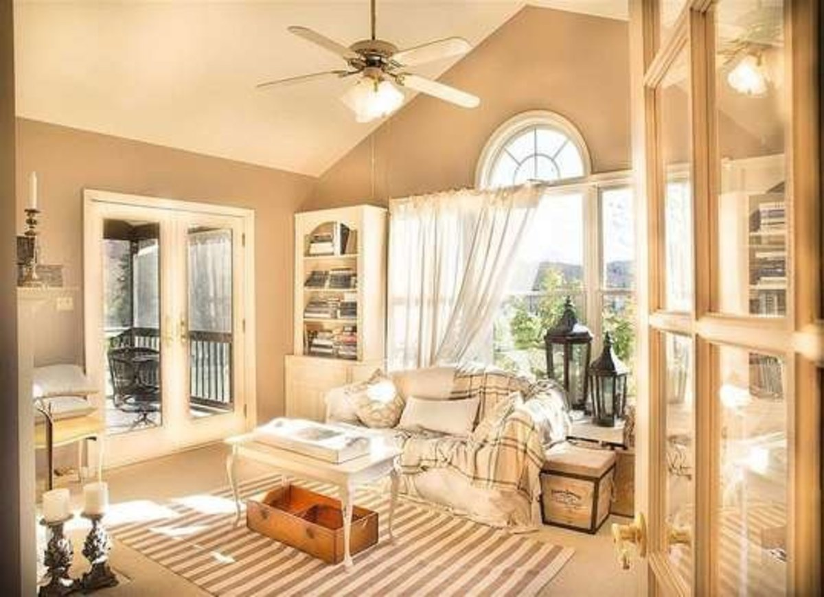 Layering differing shades of beige provides depth and warmth.
