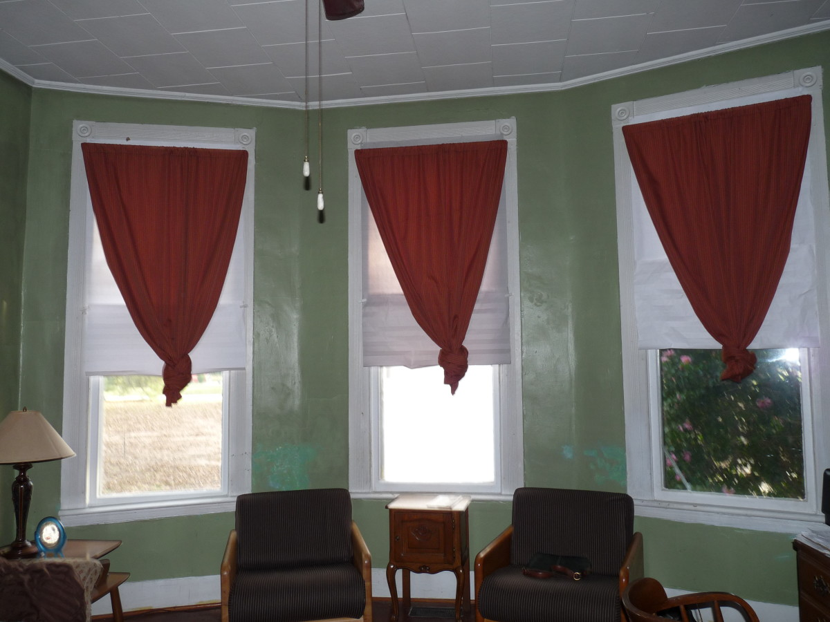 Home made drapes