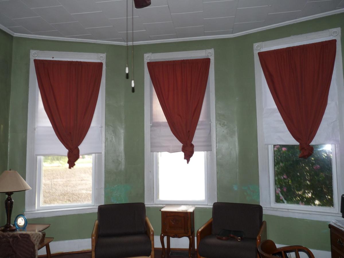 Home made drapes