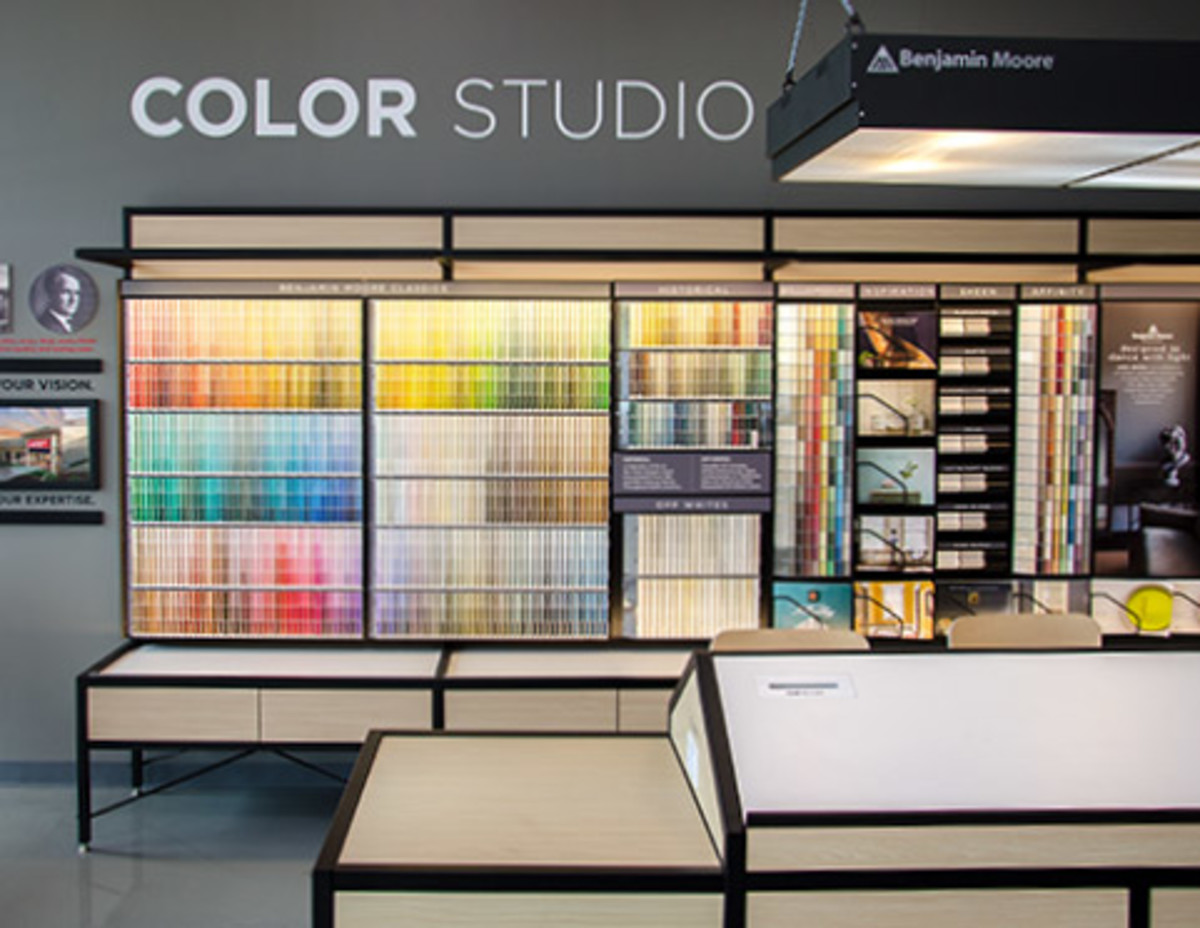 Paint stores typically have a salesperson who can help with color consultations.