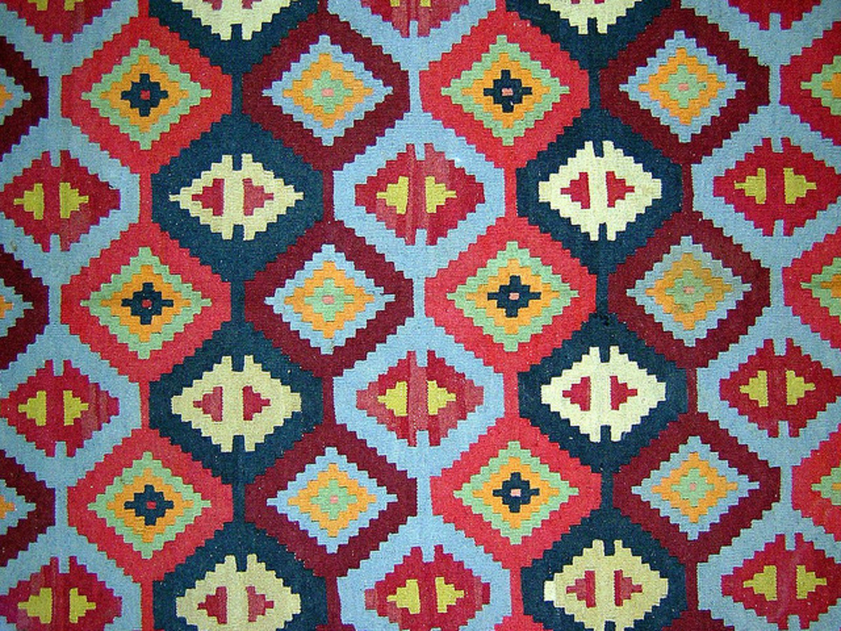 Wool rugs hold up well but can fade if left in direct sunlight.