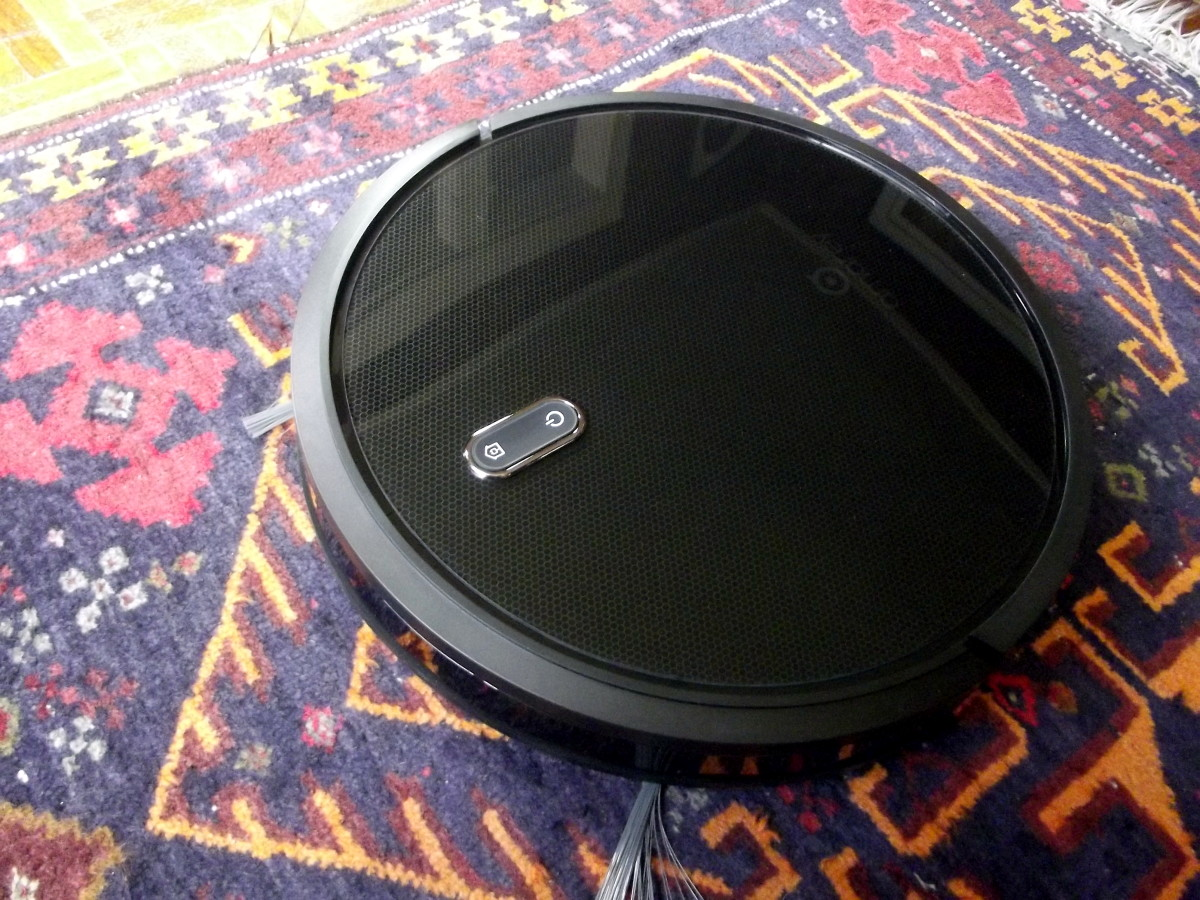 Review of the Amarey A800 Robotic Vacuum Cleaner