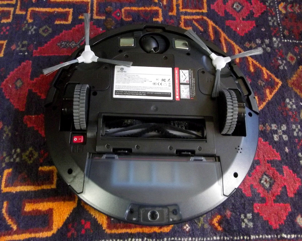 Review Of The Amarey A800 Robotic Vacuum Cleaner Dengarden