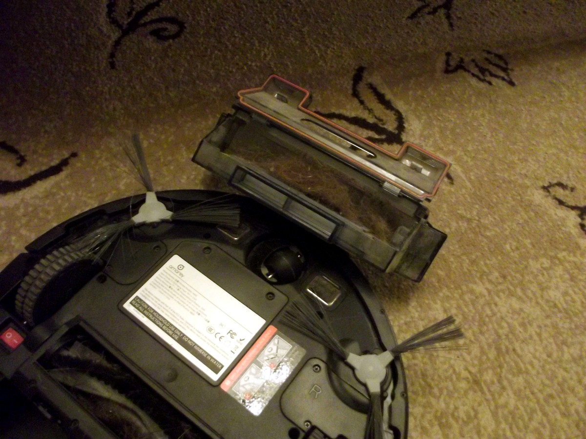 Dust box of  Amarey A800 Robotic Vacuum Cleaner
