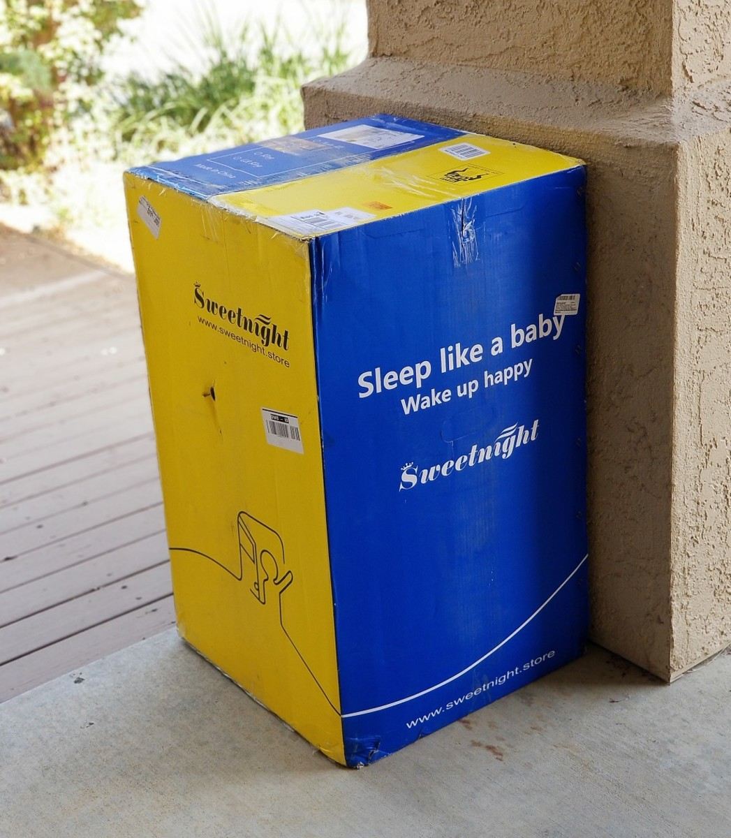 As promised, the Sweetnight mattress arrived at my door within two days of ordering it on Amazon.