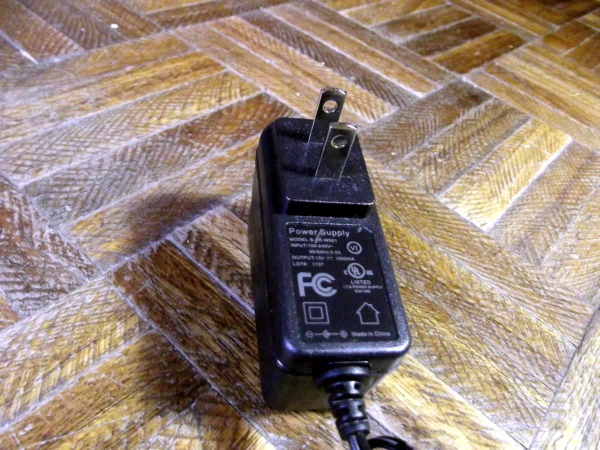 AC adapter used with Kobot RV353 Slim Series Robotic Vacuum