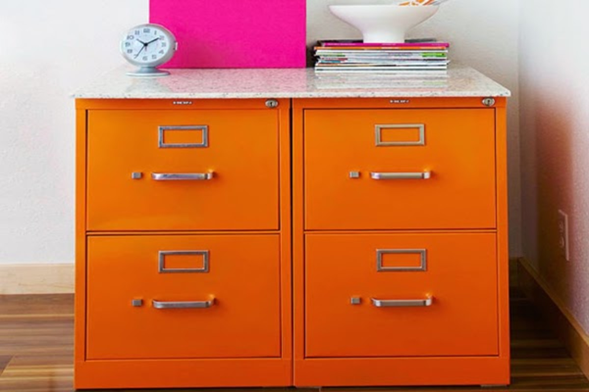 Adorable Filing Cabinet Makeover Ideas