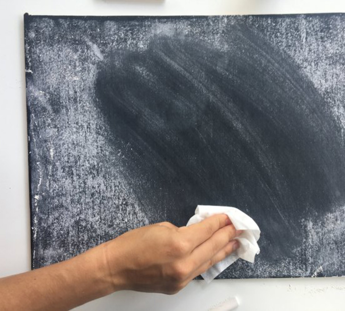 Don't forget to season your chalkboard surfaces.
