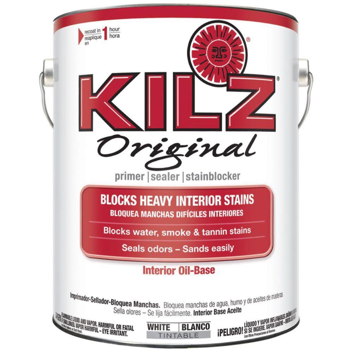 My Review of Kilz Original Oil-Based Primer