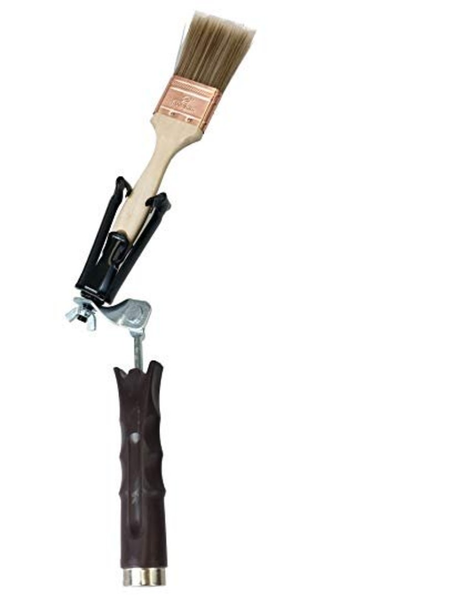 Tips for Using a Paint Brush Extender