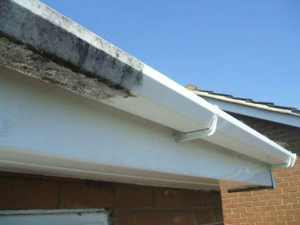 How to Paint Gutters and Downspouts and Get Rid of That Mold and Mildew