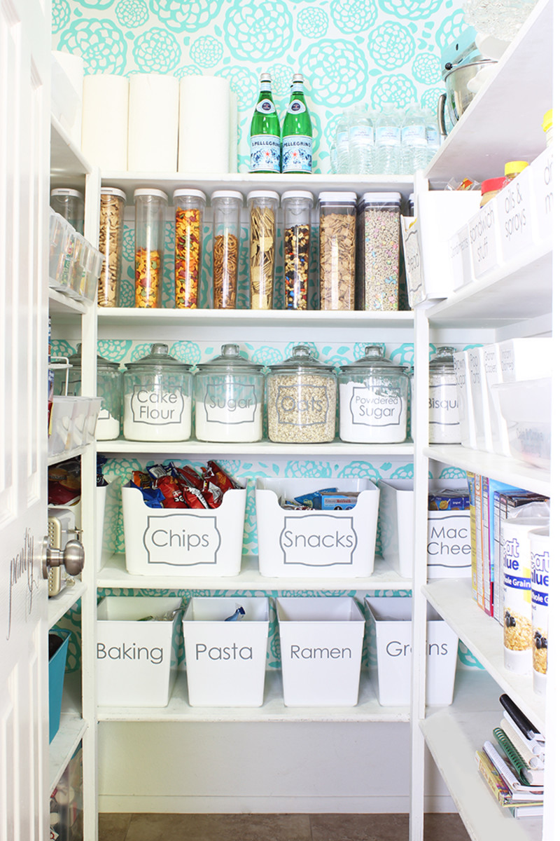 An organized pantry is an organized life.