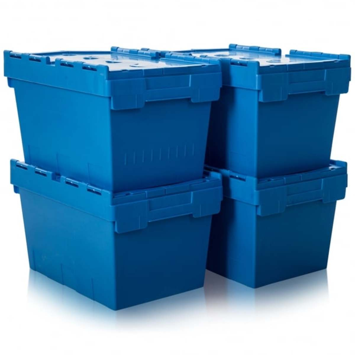 Sort your household good into four containers: trash, give, keep and store.