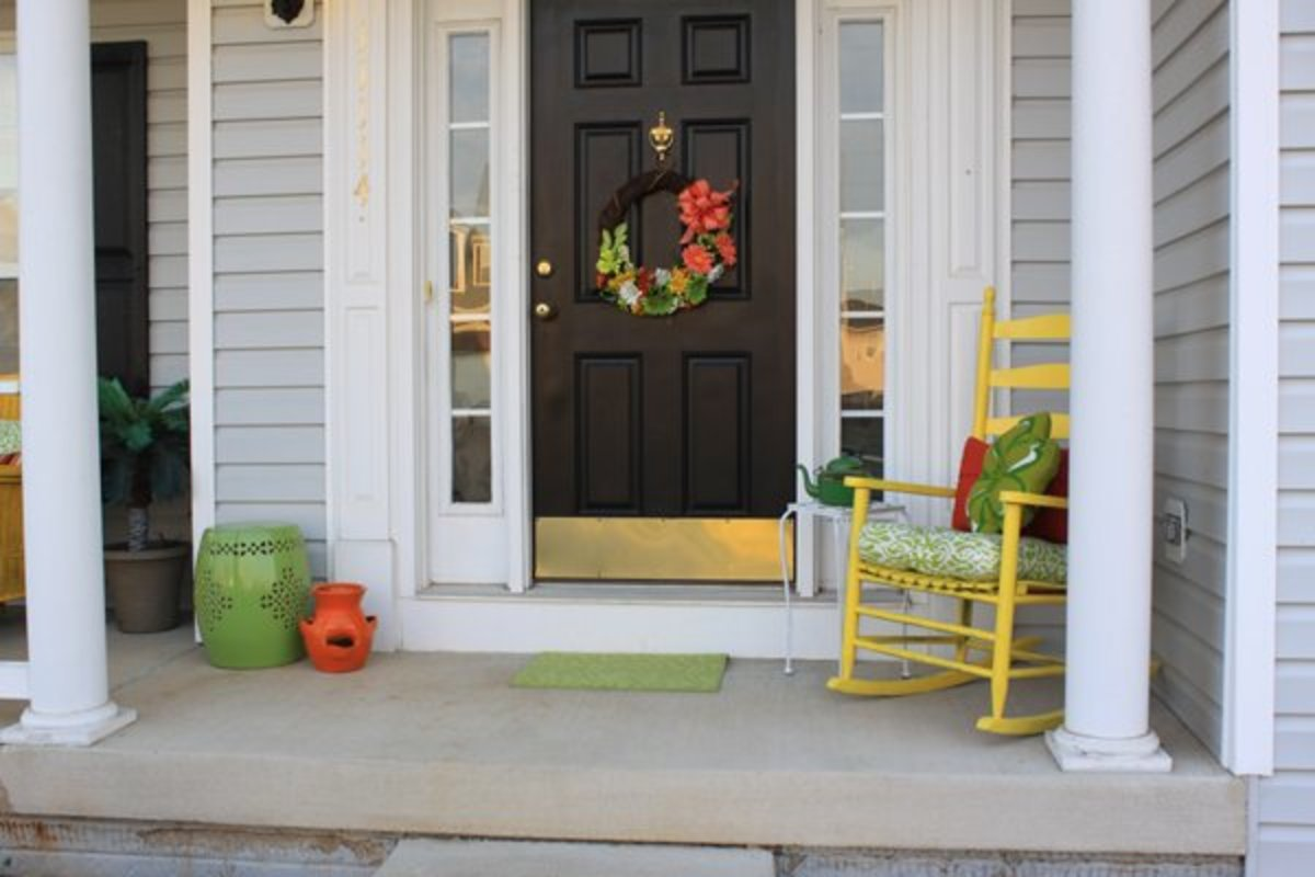 6 Simple Ways to Dress Up Your Front Door