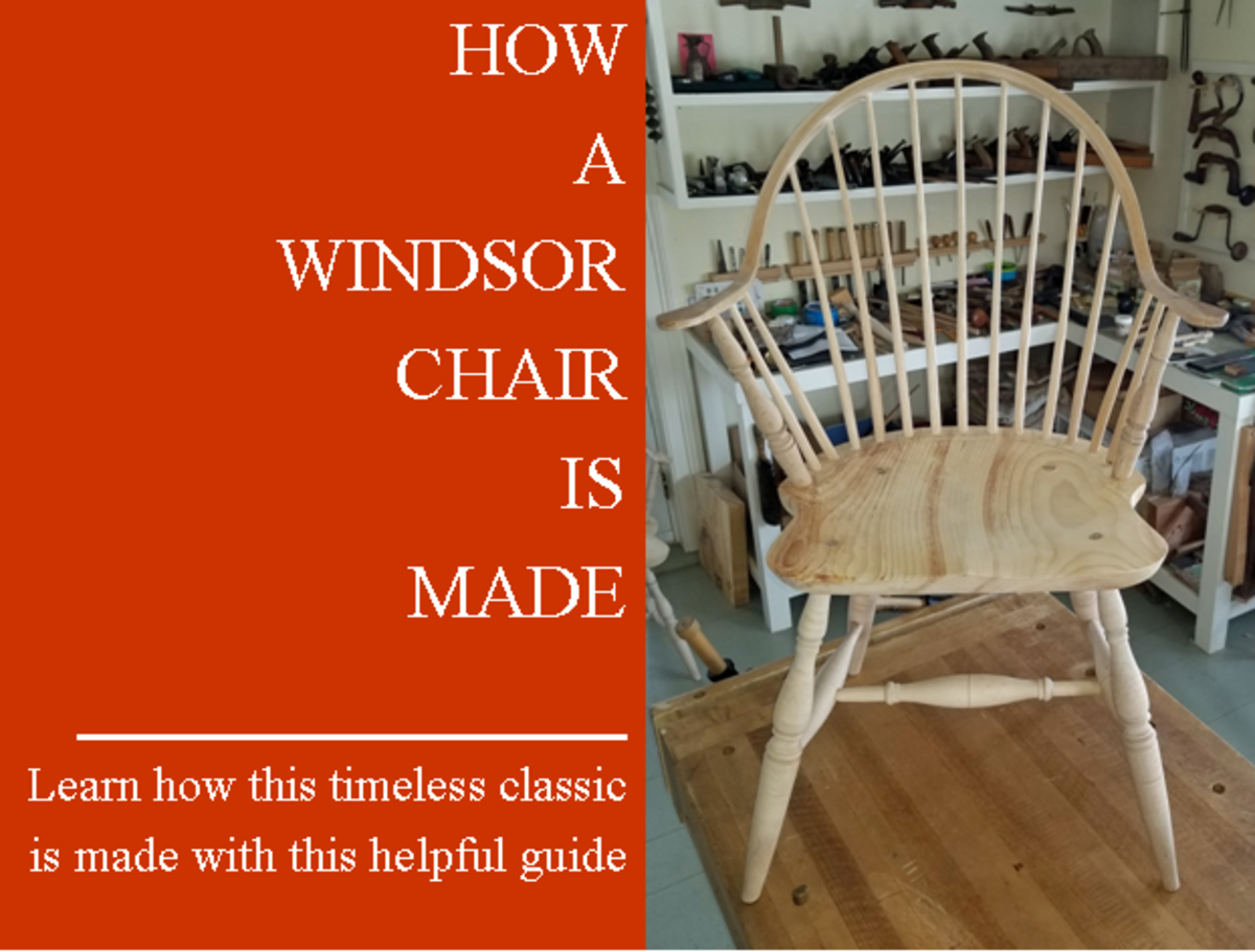This guide outlines how an authentic Windsor chair is made.