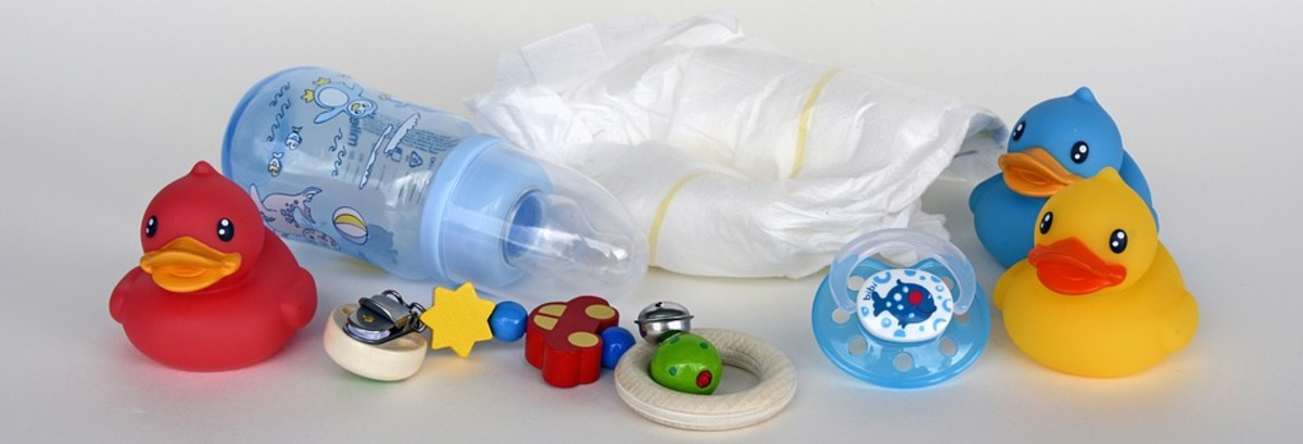 Children's toys and diapers can cause blockages if flushed down the toilet.