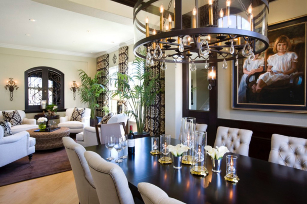 Beautiful woodwork creates a balance of elegance and warmth.
