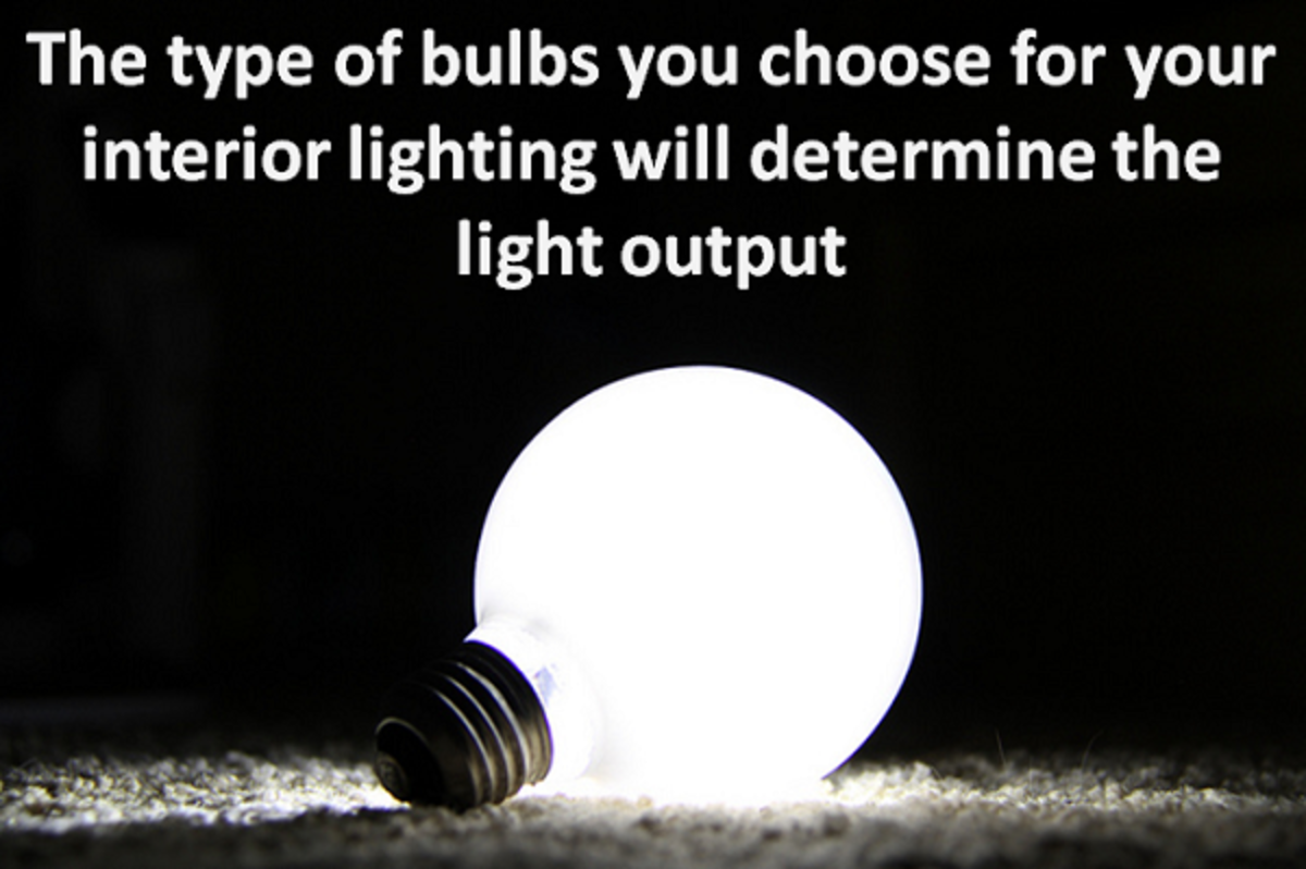 The type of lighting we choose will always determine the way we see the colours of our internal walls because different colours react to different light wavelengths.