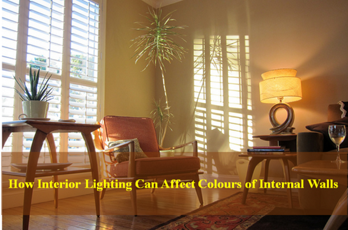 light and color in interior design walls