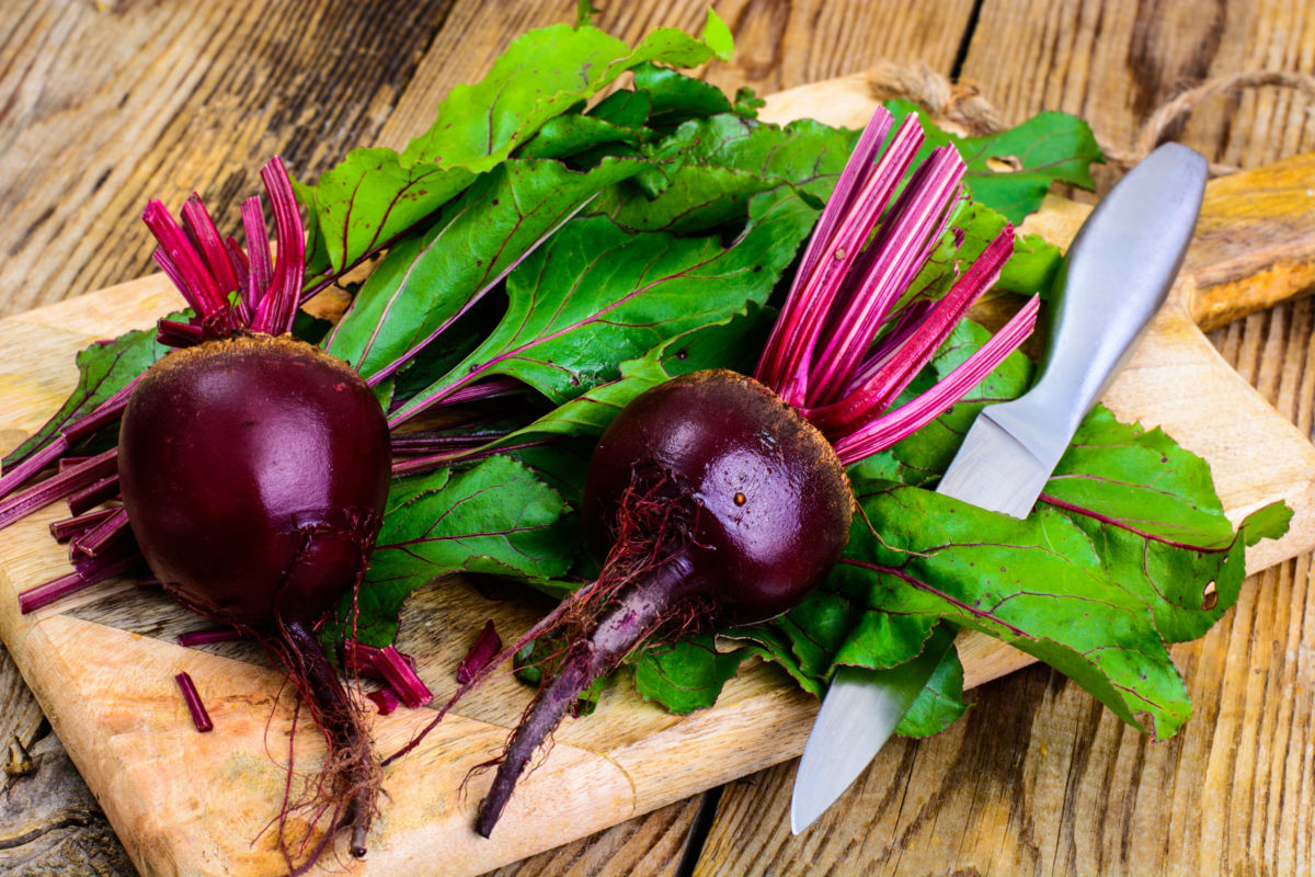Many nutritionists believe beets aid in lowering blood pressure.