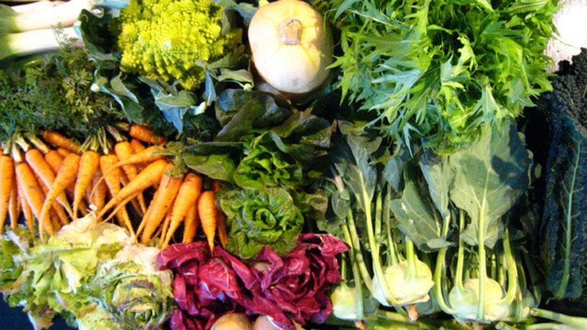 These beautiful veggies can be grown year-round!